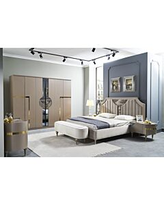 Arya Gold Bed Room